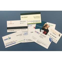 بطاقات العمل القياسية